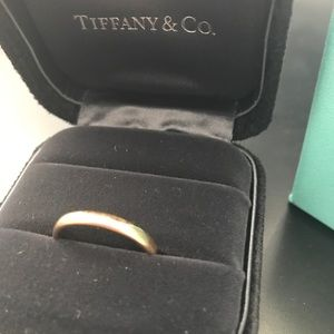Tiffany & Co. 18k Wedding Band Size 8